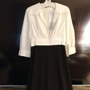 NEW Badgley Mischka 100% Silk formal dress/gown